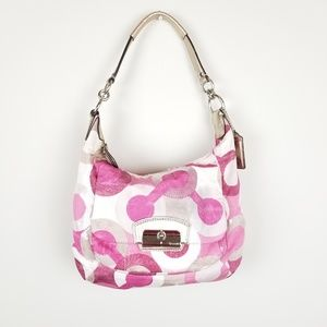 Coach~ Kristen Graphic Hobo